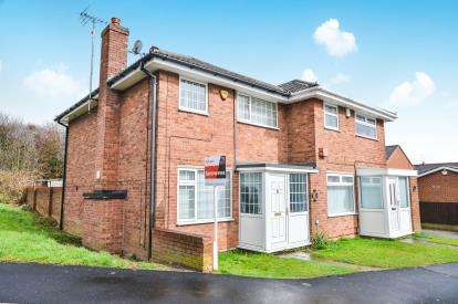 3 Bedrooms Semi Detached House for sale in Westbourne View, Sutton In Ashfield, Nottinghamshire, Notts