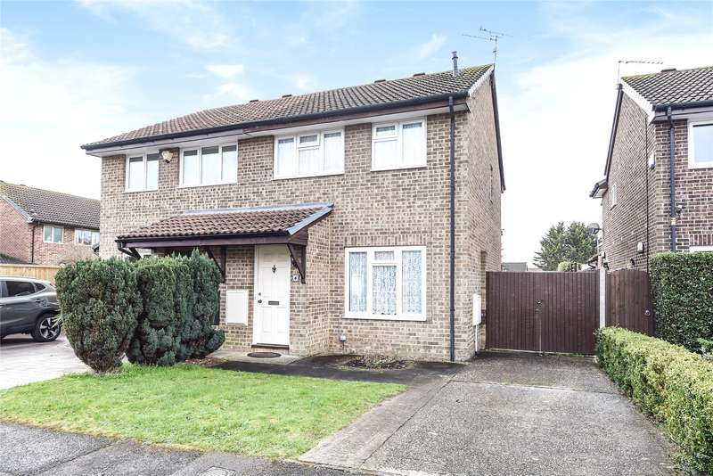 3 Bedrooms Semi Detached House for sale in Saleby Close, Lower Earley, Reading, Berkshire, RG6