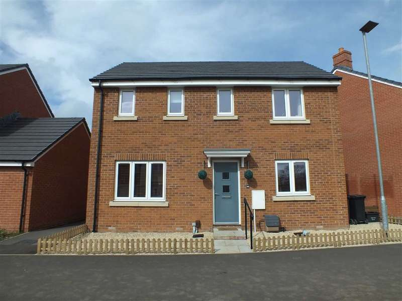 3 Bedrooms Detached House for sale in Mascroft Road, Trowbridge, Wiltshire, BA14
