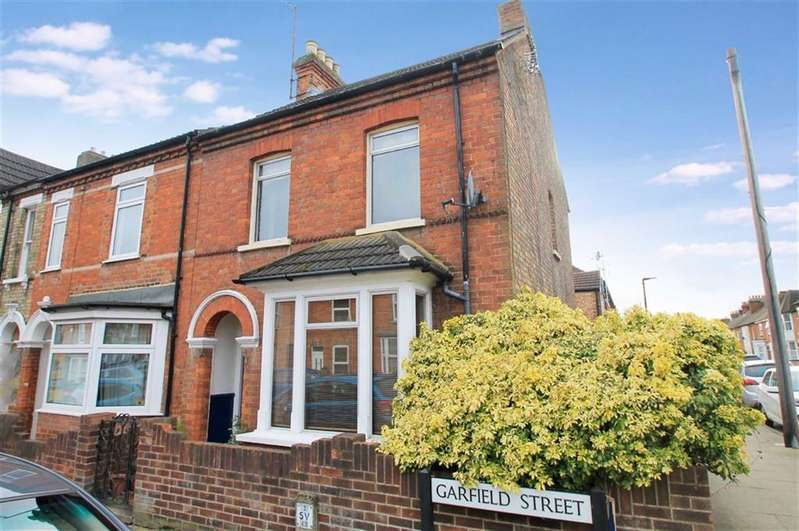 2 Bedrooms End Of Terrace House for sale in Garfield Street, Bedford