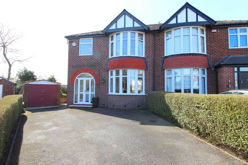 3 Bedrooms Semi Detached House for sale in Woodhill Grove, Prestwich