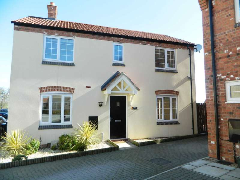 3 Bedrooms Detached House for sale in Poppy Road, Witham St Hughs, Lincoln