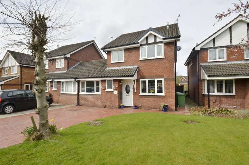 3 Bedrooms Link Detached House for sale in Gawsworth Close, Timperley, Altrincham