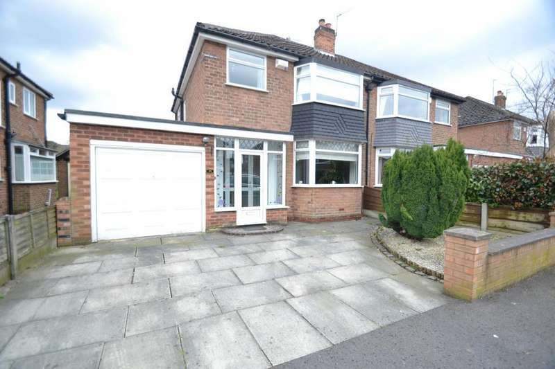 3 Bedrooms Semi Detached House for sale in Fulmar Drive, Sale