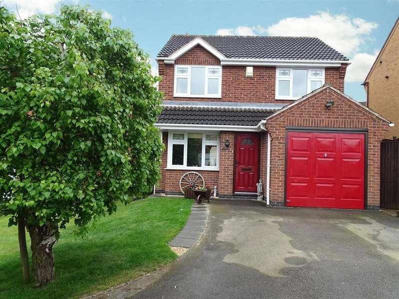 3 Bedrooms Detached House for sale in Primrose Bank, Bingham, Nottingham