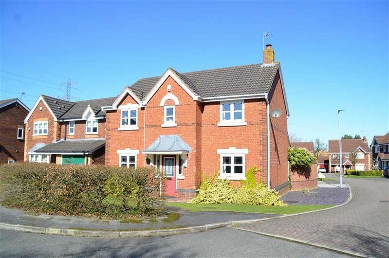 4 Bedrooms Detached House for sale in Rosemere Drive, Backford Cross, CH1