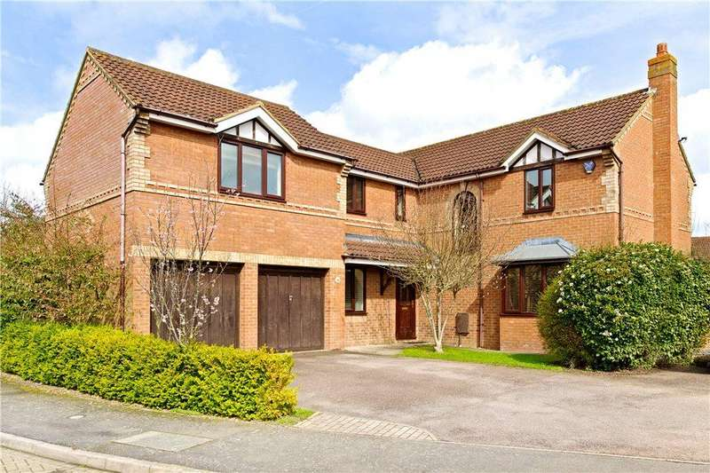 5 Bedrooms Detached House for sale in Quilter Meadow, Old Farm Park, Milton Keynes, Buckinghamshire