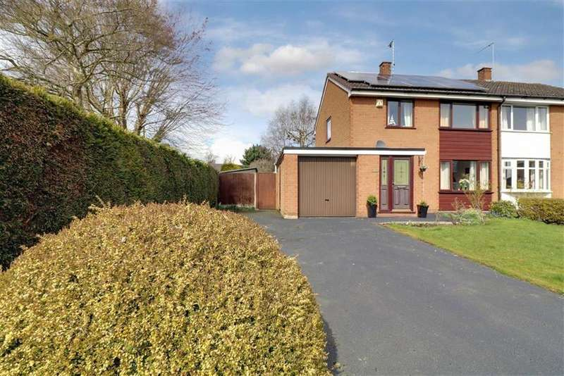 3 Bedrooms Semi Detached House for sale in Brine Road, Nantwich