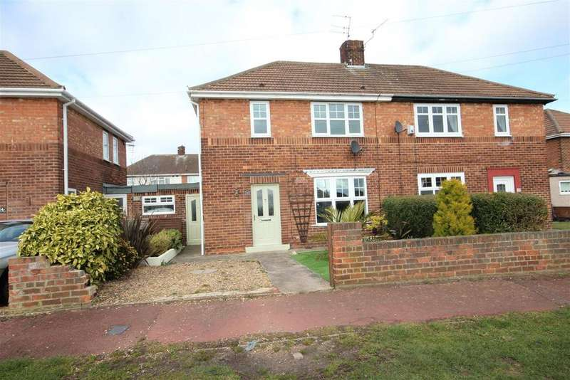 2 Bedrooms Semi Detached House for sale in Chaucer Avenue, Hartlepool