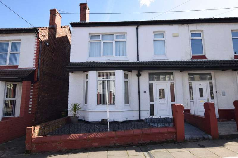 4 Bedrooms Semi Detached House for sale in Allcot Avenue, Tranmere