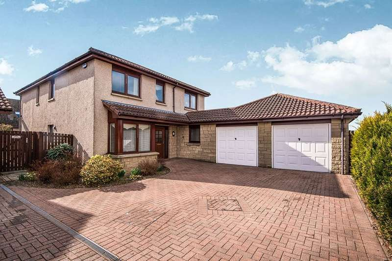 4 Bedrooms Detached House for sale in Queens Meadow, Coaltown, Glenrothes, KY7
