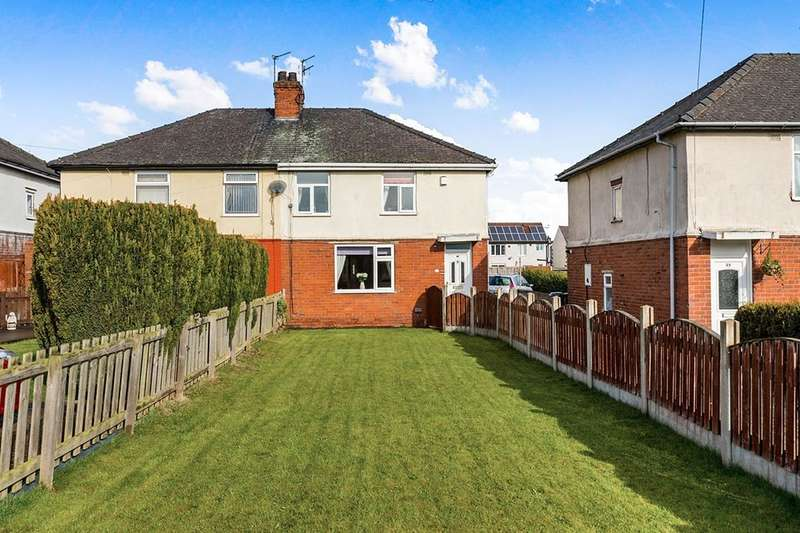 3 Bedrooms Semi Detached House for sale in Cemetery Road, Woodlands, Doncaster, DN6