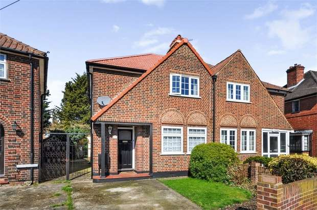 3 Bedrooms Semi Detached House for sale in Swan Road, West Drayton, Greater London