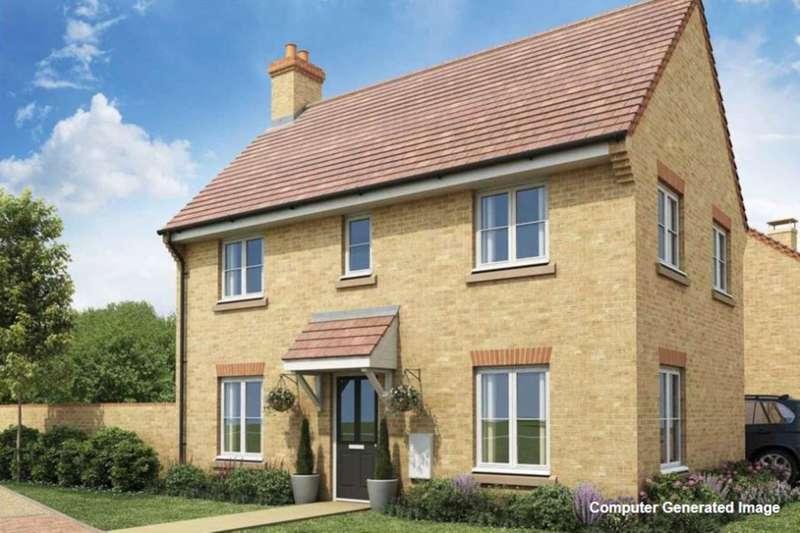 3 Bedrooms Detached House for sale in Plot 572 Easedale, Saxon Fields , Biggleswade SG18 8UG