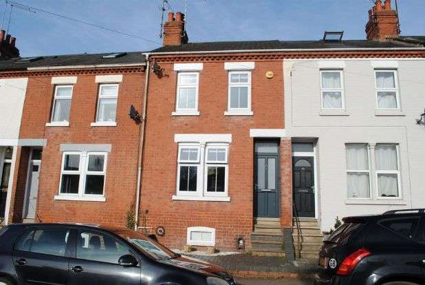 2 Bedrooms Terraced House for sale in Kingswell Road, Kingsthorpe, Northampton NN2 6QB