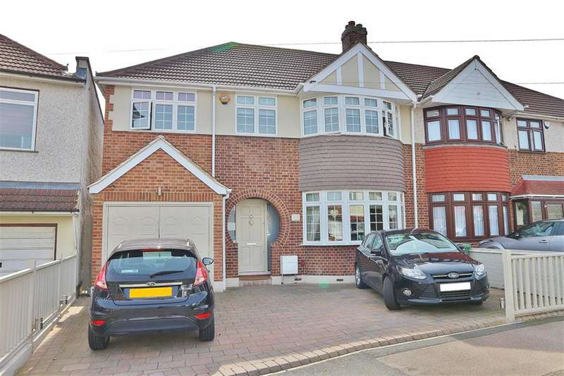 4 Bedrooms Semi Detached House for sale in Selwyn Crescent, South Welling, Kent, DA16 2AP