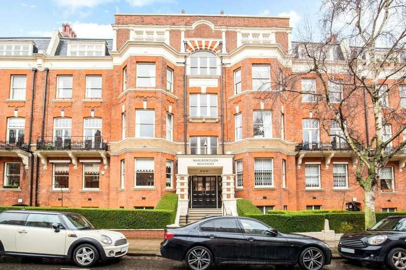 4 Bedrooms Flat for sale in Marlborough Mansions, Cannon Hill, West Hampstead, London, NW6