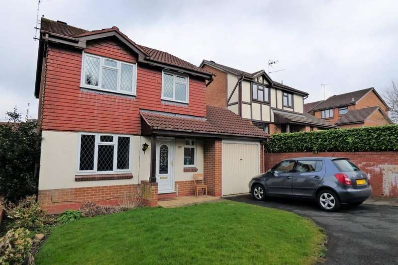 3 Bedrooms Detached House for sale in Robin Close, Uttoxeter