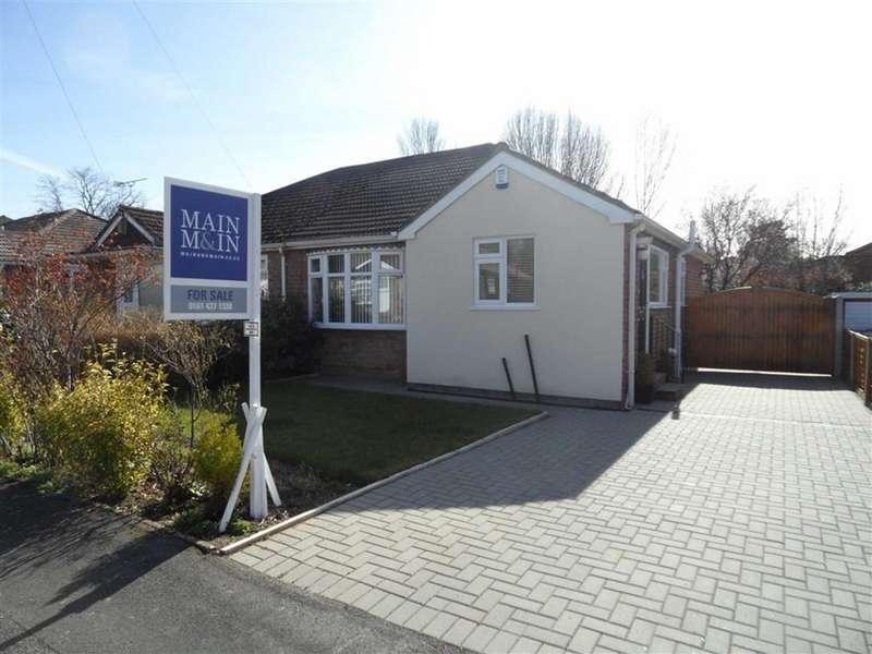 2 Bedrooms Semi Detached Bungalow for sale in Portloe Road, Heald Green