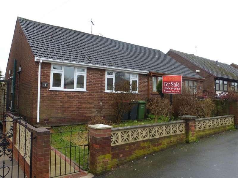 2 Bedrooms Semi Detached Bungalow for sale in Victoria Road, Nuneaton