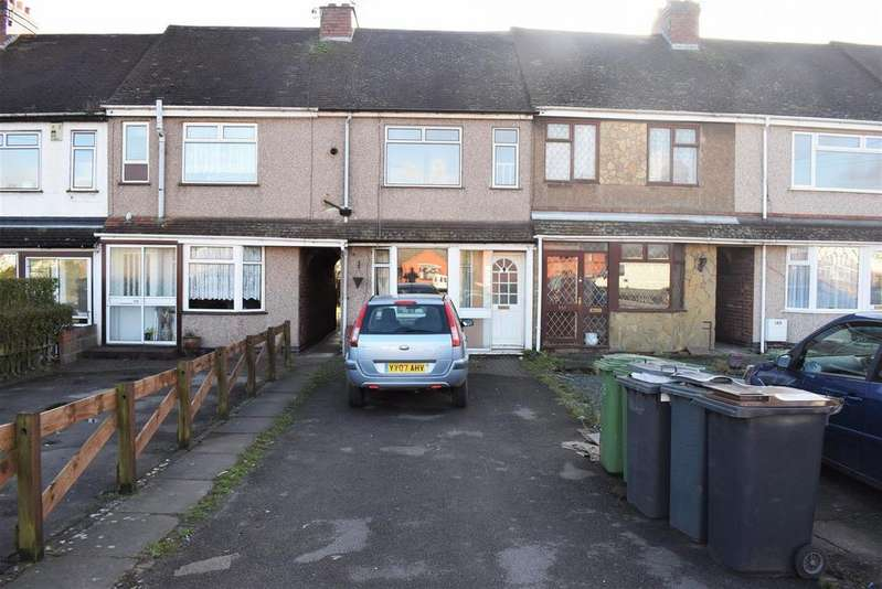 3 Bedrooms Terraced House for sale in Camp Hill Road, Nuneaton