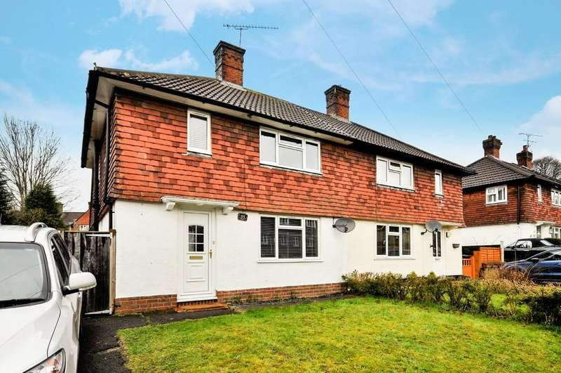 2 Bedrooms Semi Detached House for sale in Weycombe Road, Haslemere