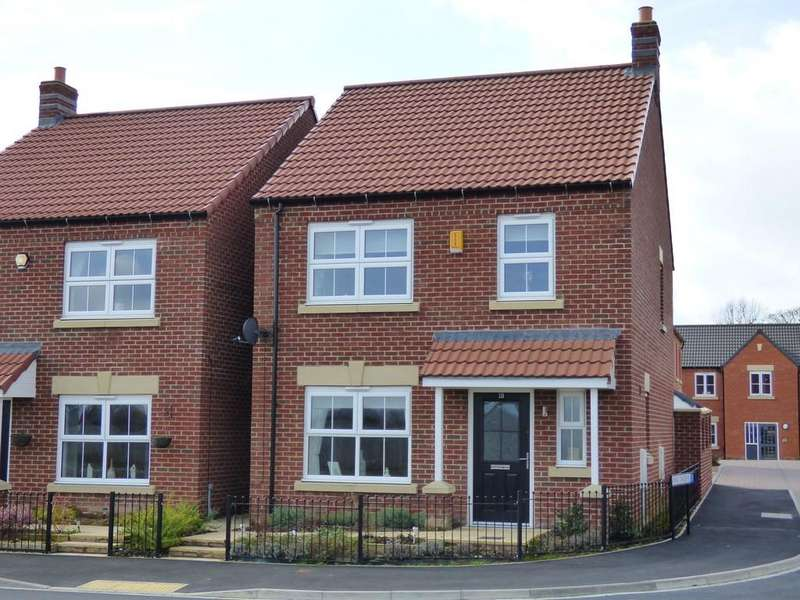 3 Bedrooms Detached House for sale in Foundry Way , Leeming Bar