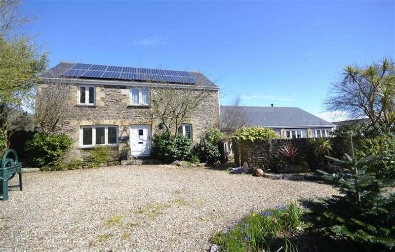 4 Bedrooms Detached House for sale in Boswinger, Boswinger, St Austell, Cornwall, PL26
