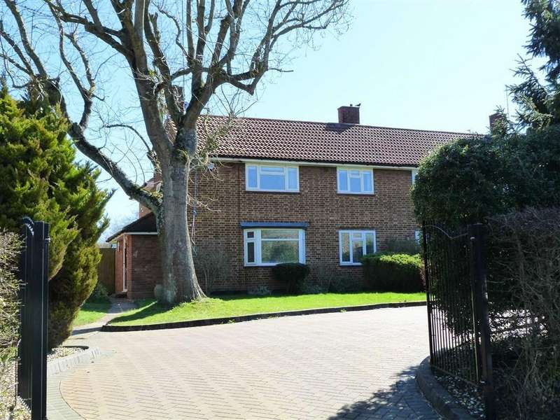 4 Bedrooms Semi Detached House for sale in Lea Green, Mill Green, Hatfield