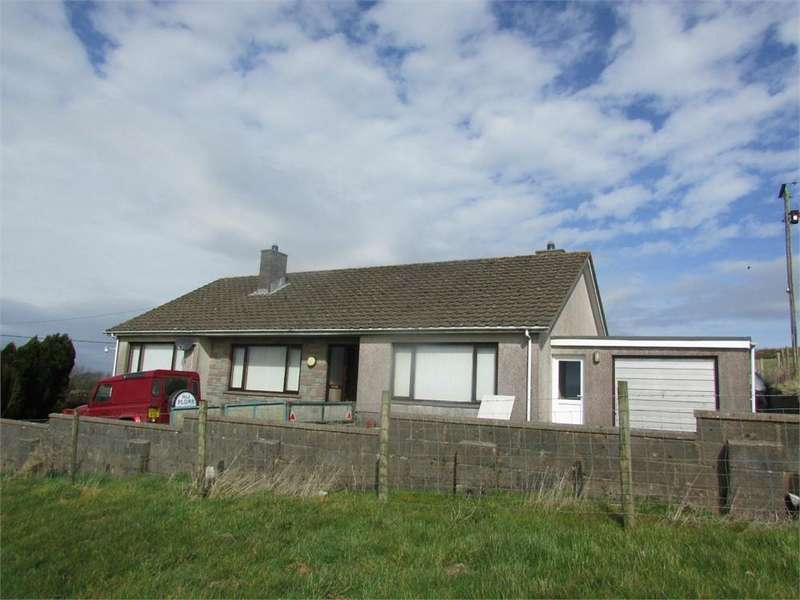 3 Bedrooms Detached Bungalow for sale in Bryn Y Goitre, Llanboidy, Whitland, Carmarthenshire