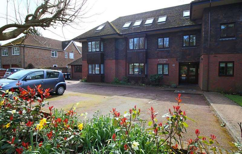 2 Bedrooms Flat for sale in Fitzjohn Court, Keymer Road, Hassocks, West Sussex