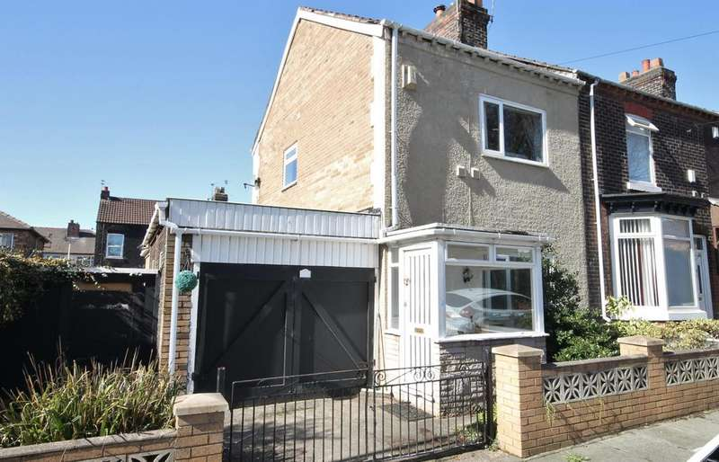 2 Bedrooms End Of Terrace House for sale in Sadler Street, Widnes, WA8 6LN