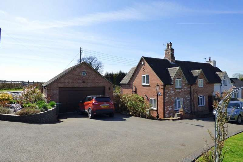 3 Bedrooms Semi Detached House for sale in Ashby Road East, Bretby