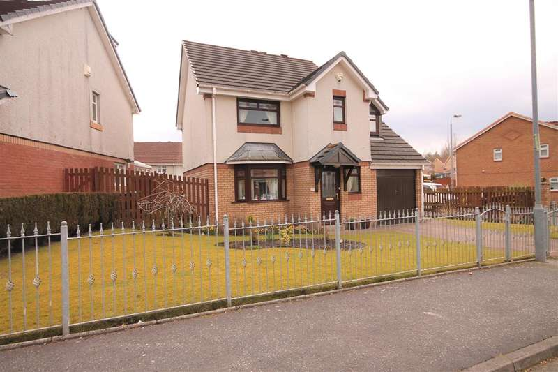3 Bedrooms Detached House for sale in Redwood Grove, Coatbridge