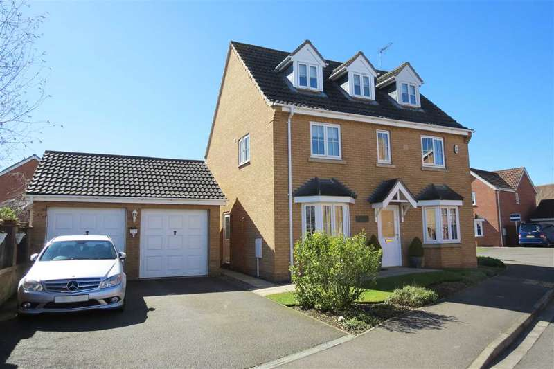 5 Bedrooms Detached House for sale in Stephens Way, Sleaford