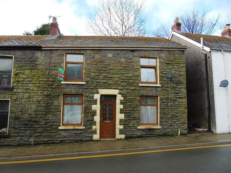 3 Bedrooms End Of Terrace House for sale in East Road, Tylorstown, Ferndale