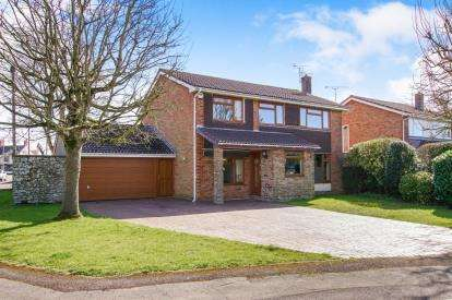 4 Bedrooms Detached House for sale in Beanhill Crescent, Alveston, Bristol