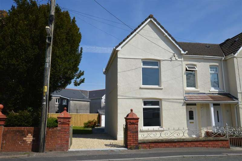 3 Bedrooms Semi Detached House for sale in Tycroes Road, Tycroes, Ammanford
