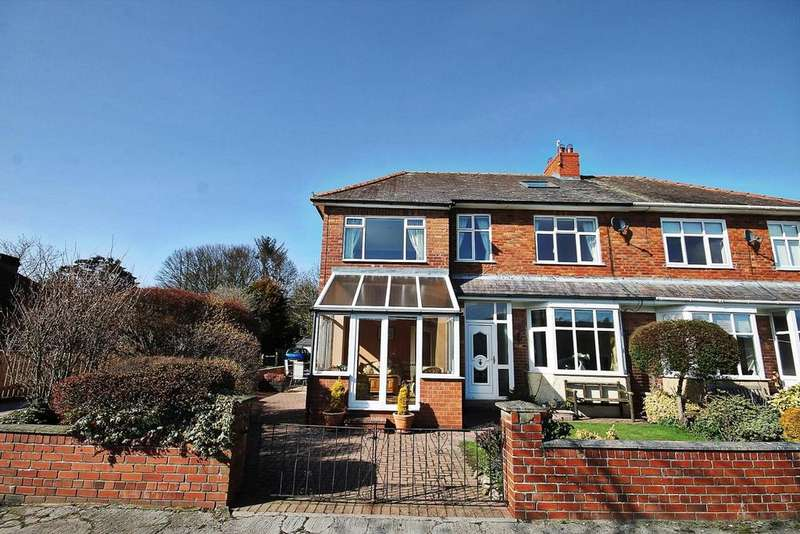 4 Bedrooms Semi Detached House for sale in Stanhope Road, Wolsingham, Bishop Auckland