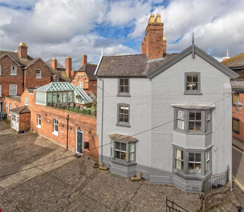5 Bedrooms Town House for sale in College Hill, Shrewsbury