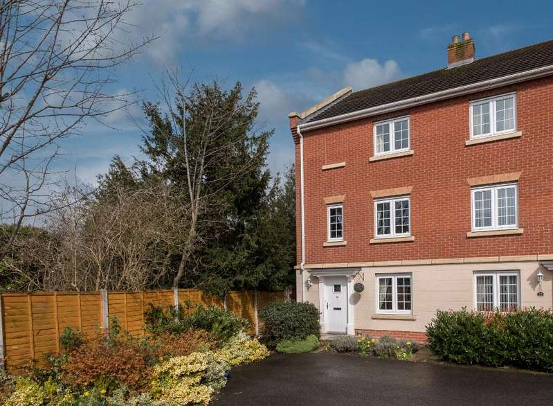 3 Bedrooms End Of Terrace House for sale in Jackson Avenue, Nantwich
