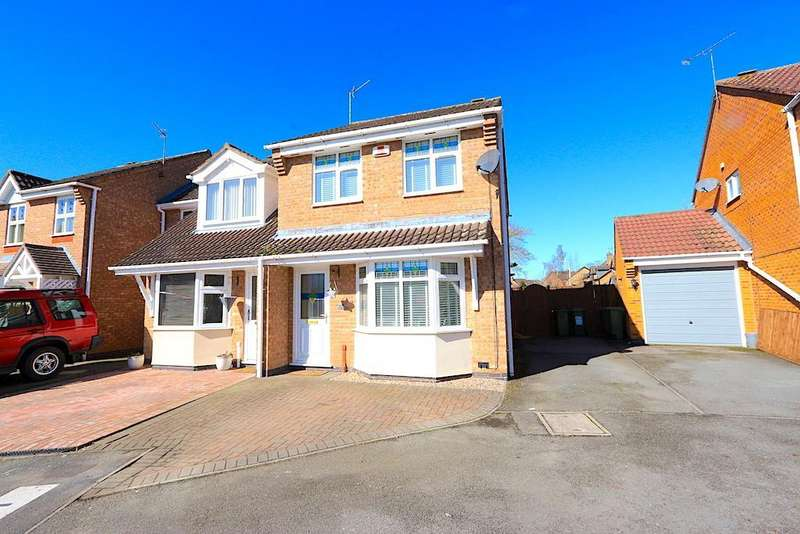 3 Bedrooms Property for sale in Galahad Close, Leicester Forest East