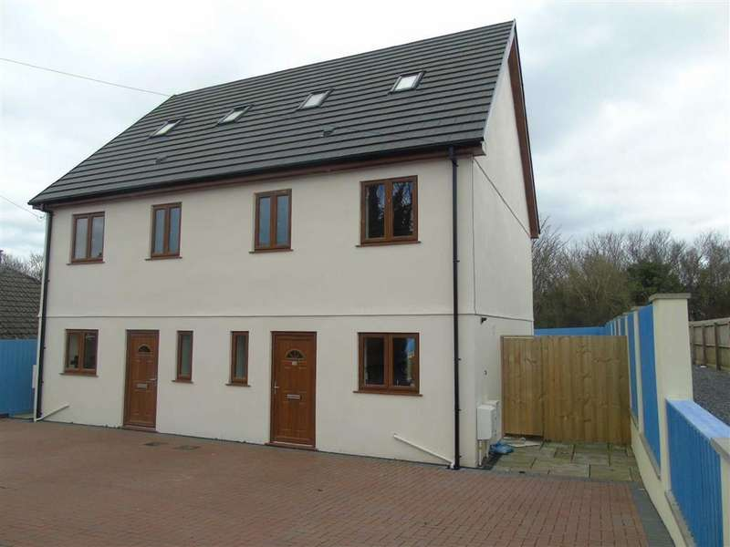 4 Bedrooms Semi Detached House for sale in Penygraig Road, Llwynhendy, Llanelli