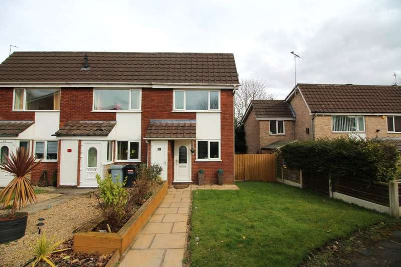 2 Bedrooms Terraced House for sale in Aylesbury Close, Macclesfield, SK10