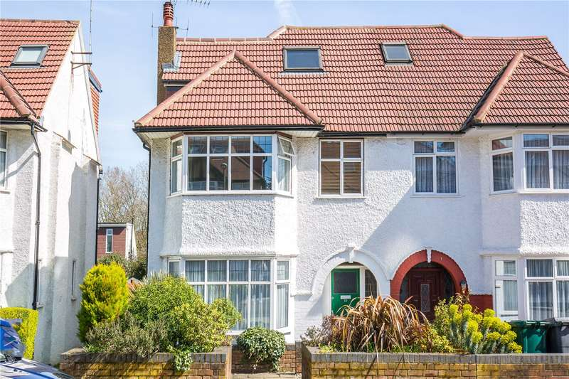 5 Bedrooms Semi Detached House for sale in Holders Hill Drive, Mill Hill, London, NW4