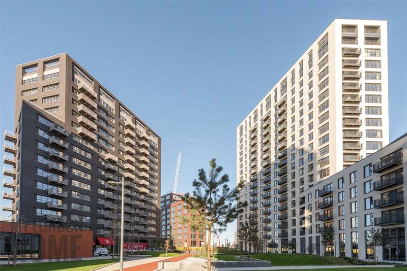 2 Bedrooms Apartment Flat for sale in Albion House, City Island, London, E14