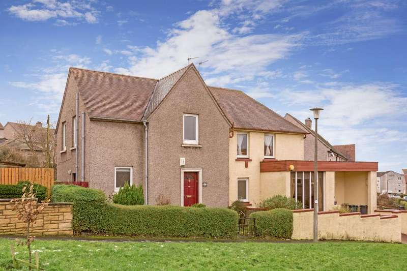 3 Bedrooms End Of Terrace House for sale in 25 Parkgrove Crescent, Barnton, EH4 7RW