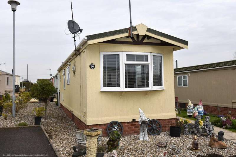 1 Bedroom Park Home Mobile Home for sale in Stationfields, Tamworth B79 7JU