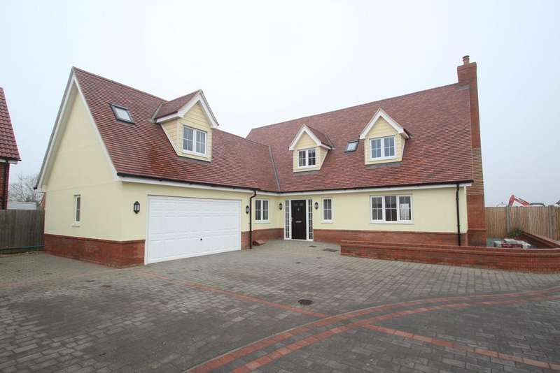4 Bedrooms Detached House for sale in Keeble Road, Brantham, Manningtree, CO11