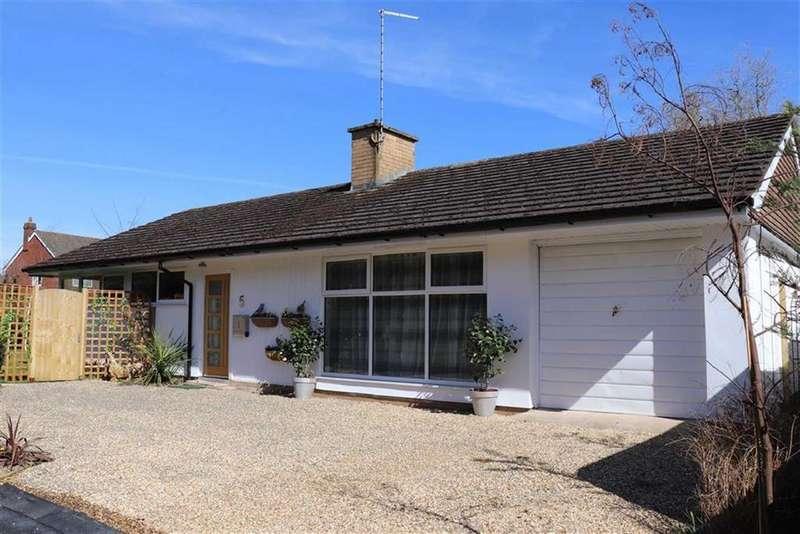 3 Bedrooms Detached Bungalow for sale in Kingswood Crescent, Copthorne, Shrewsbury, Shropshire